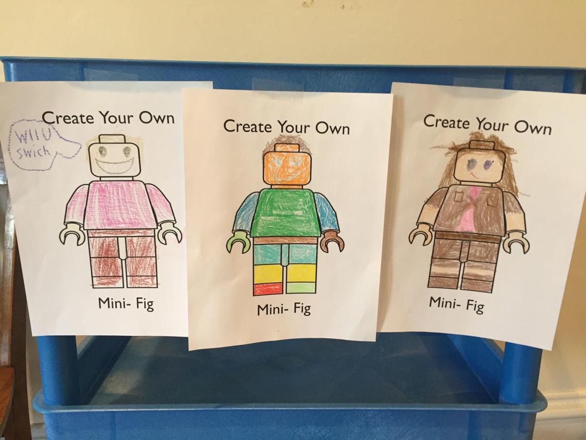 Lego Club drawings