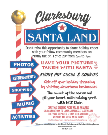 Santa Land flyer