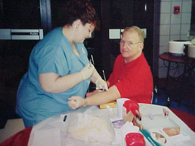 Residents able to get blood tests for reduced rates thanks to Rotary