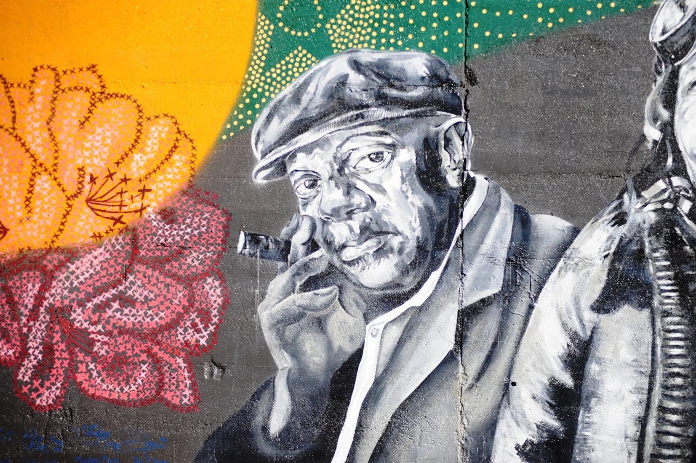 Johnnie Johnson mural at palatine park