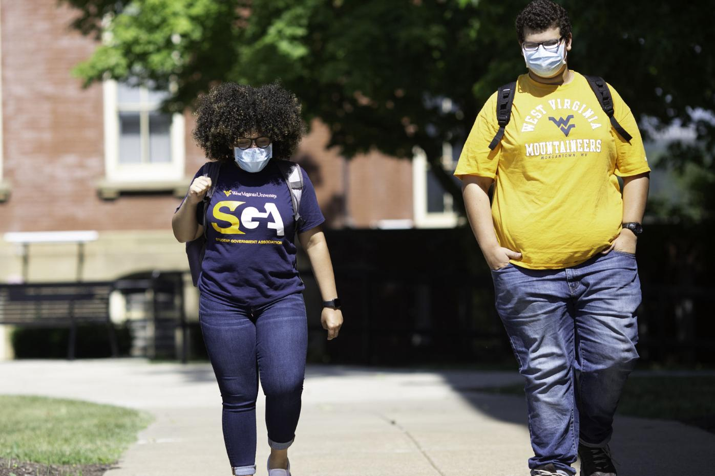 WVU Students Masks