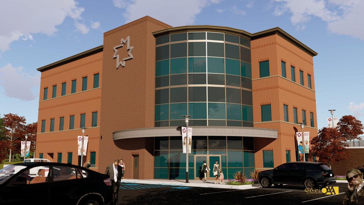 Mon Health's Marion County Building Rendering