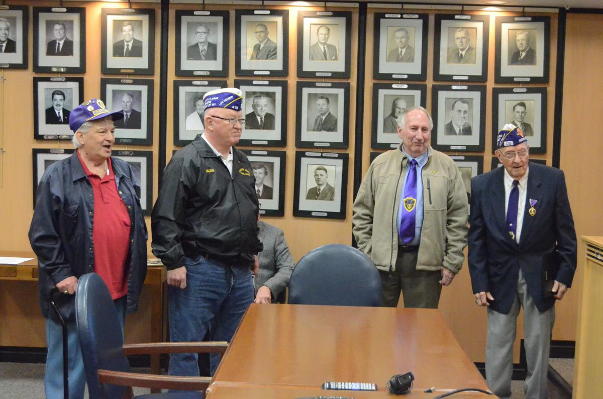 Harrison Commission Purple Heart recipients