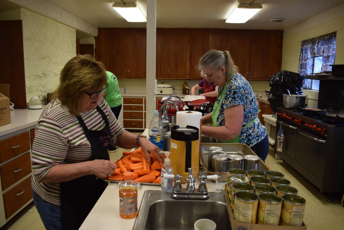 Jane Lew First UMC dishes out food, fellowship each Thursday