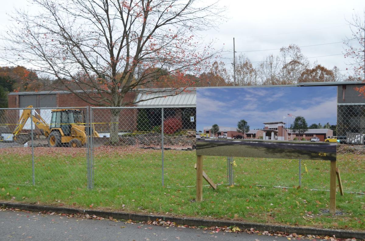 New White Hall PSB under construction
