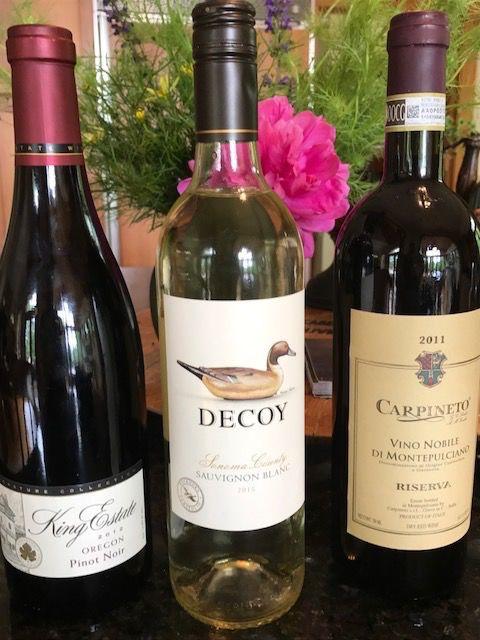 Summertime wines