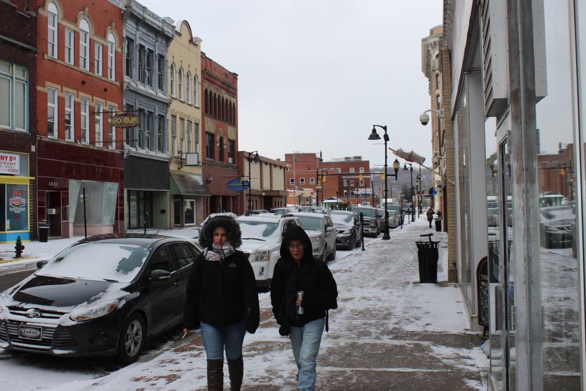 Polar vortex hits North Central West Virginia, impacts road