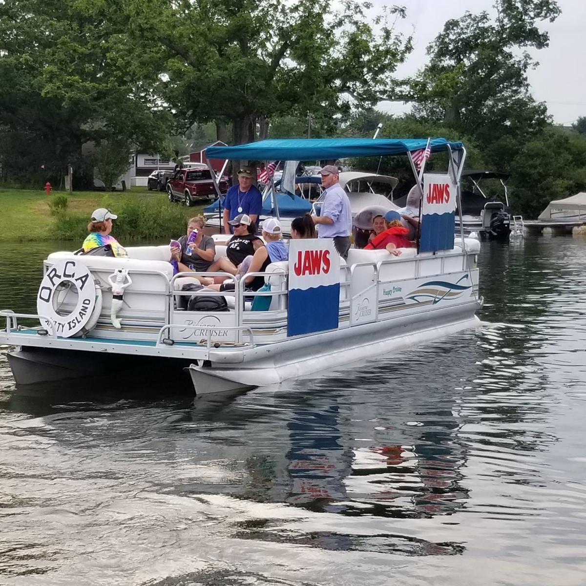 Jaws boat