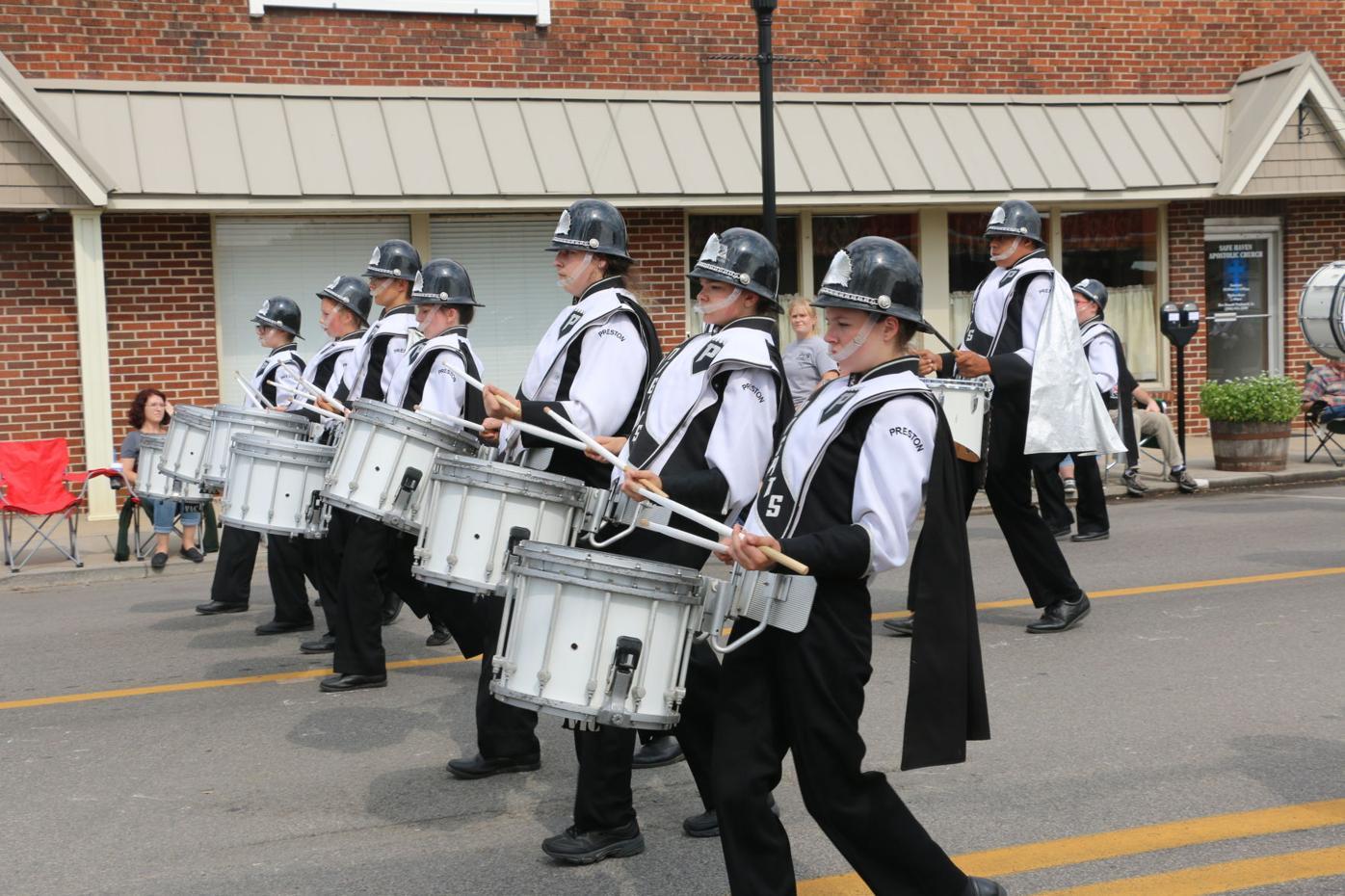 Preston High School band