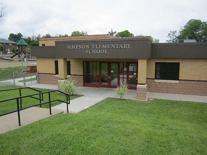 Simpson Elementary School Front