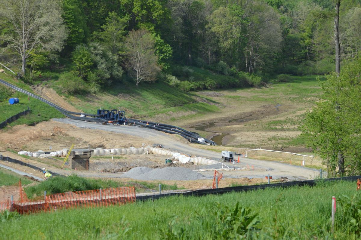 Upper Decker's Creek Dam Rehabilitation