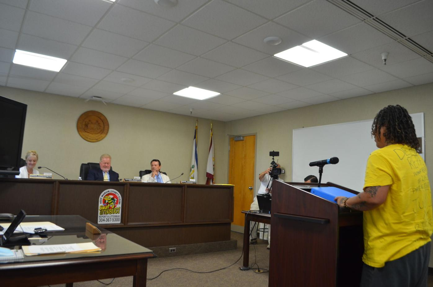 Commission listens to Warner