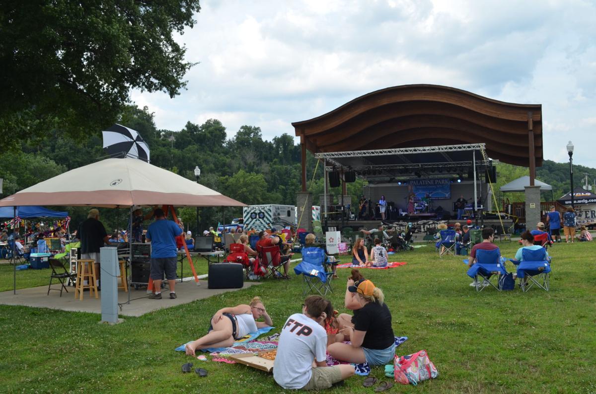 July 4 at Palatine Park