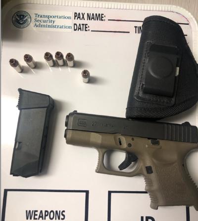 Loaded gun detected at Huntington Tri-State July 10