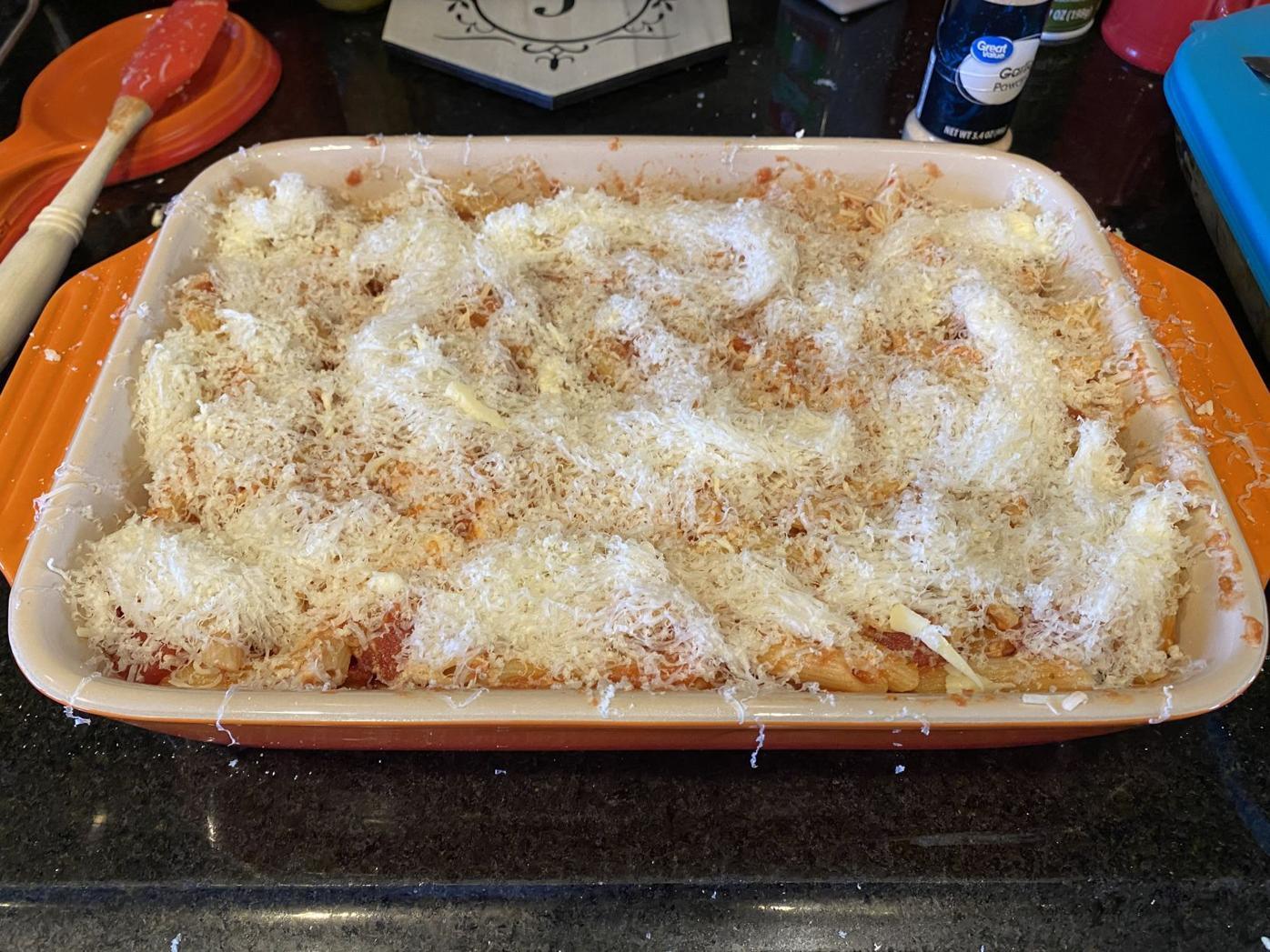 Cheesy Penne Bake