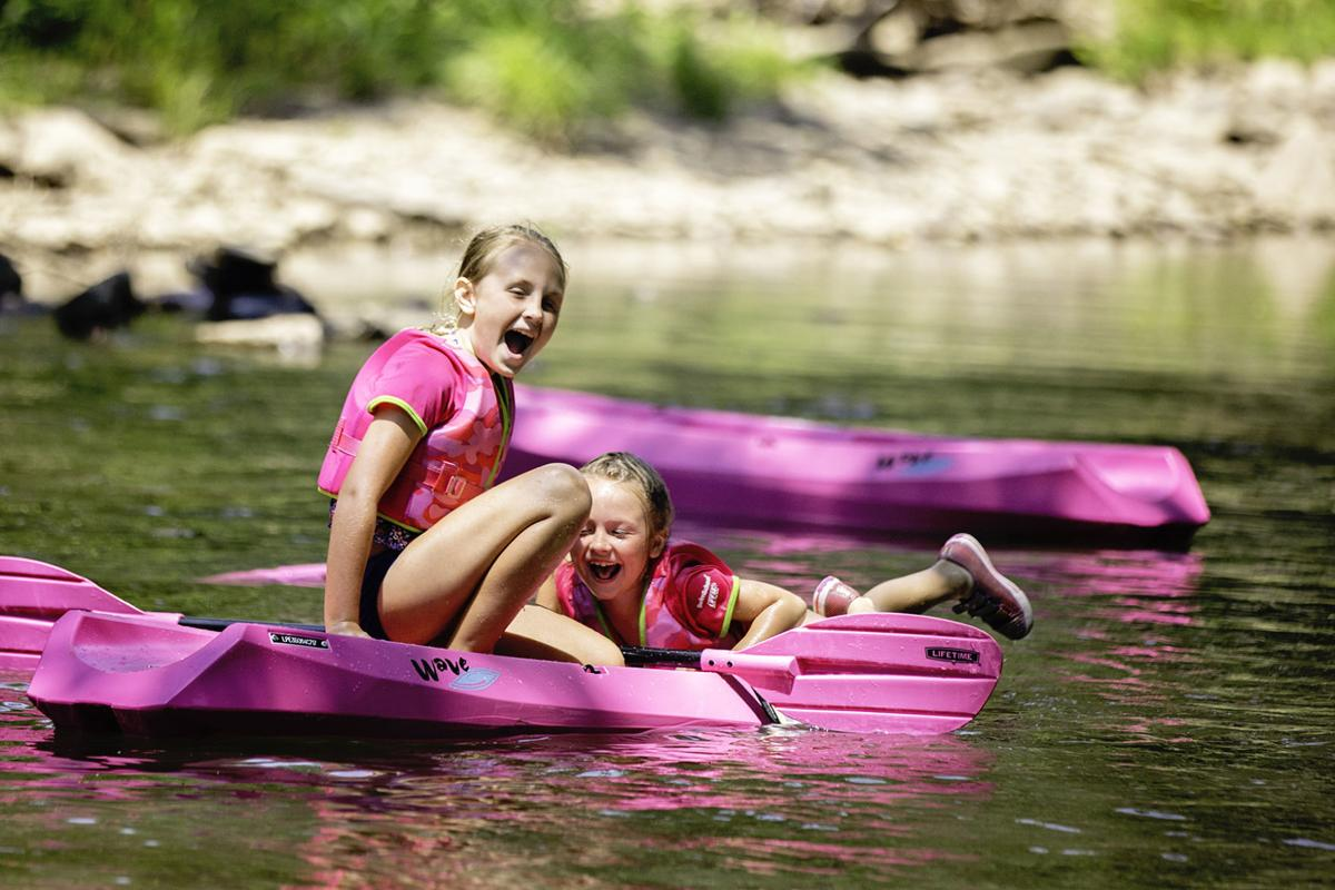 Camping and water sports