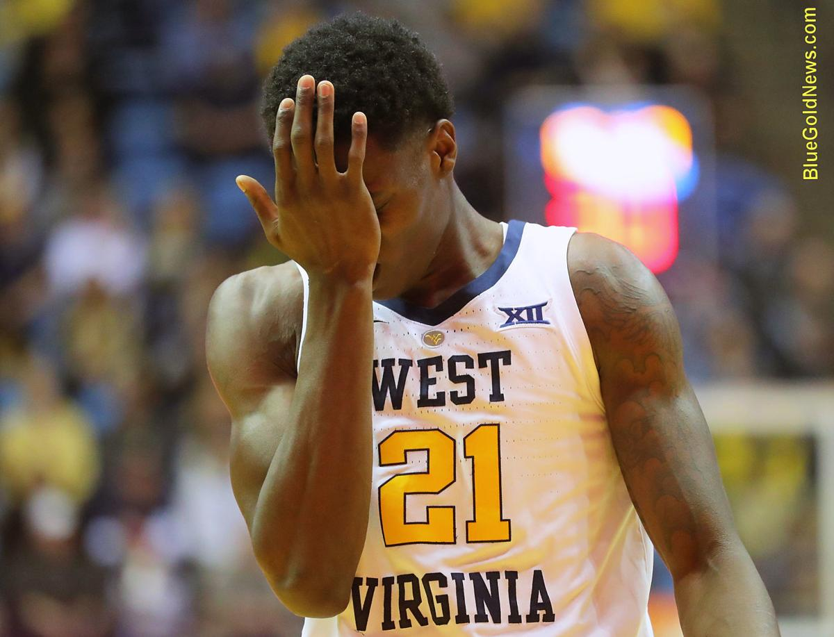 WVU Basketball Wes Harris Front
