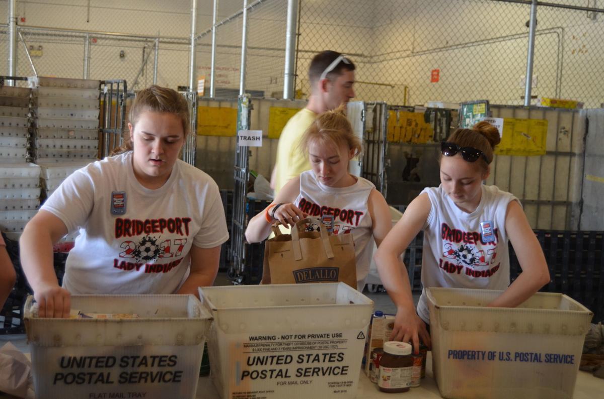 postal carrier food drive