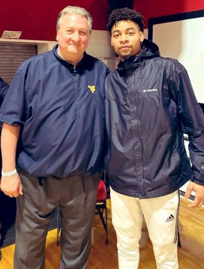 Jay Moore with Huggs