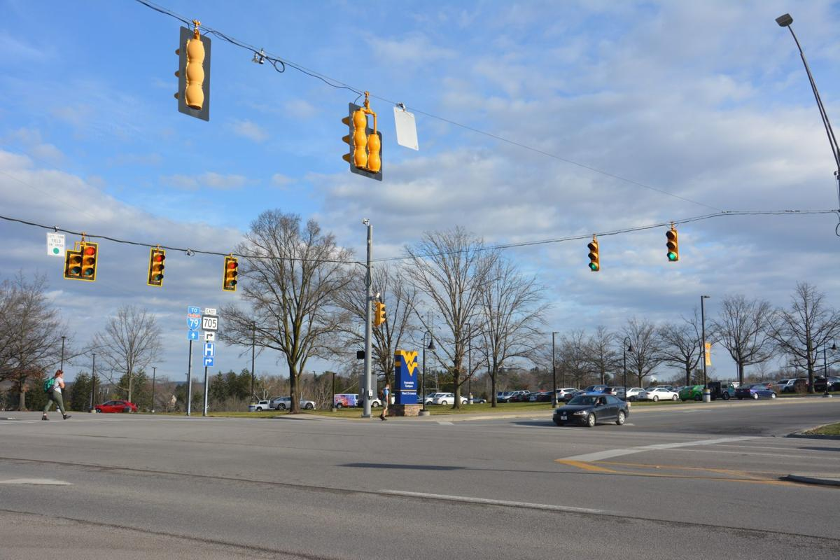 Evansdale drive intersection