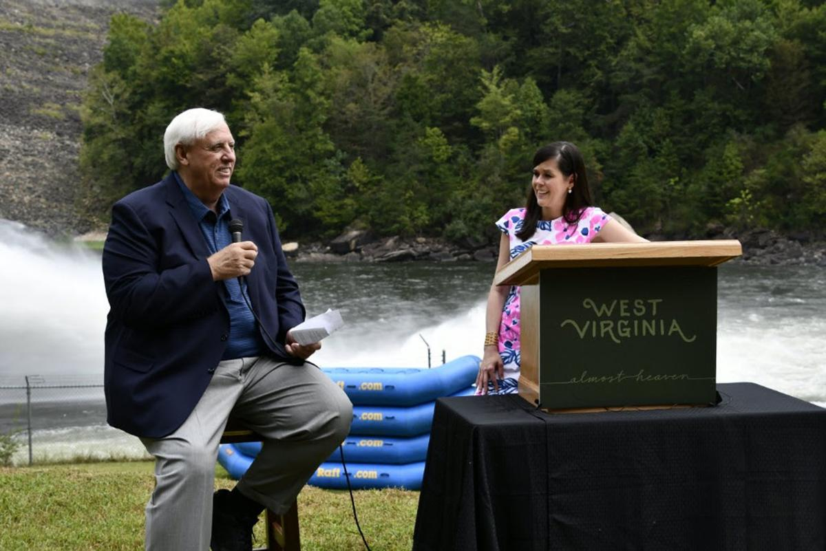 Jim Justice and Chelsea Ruby
