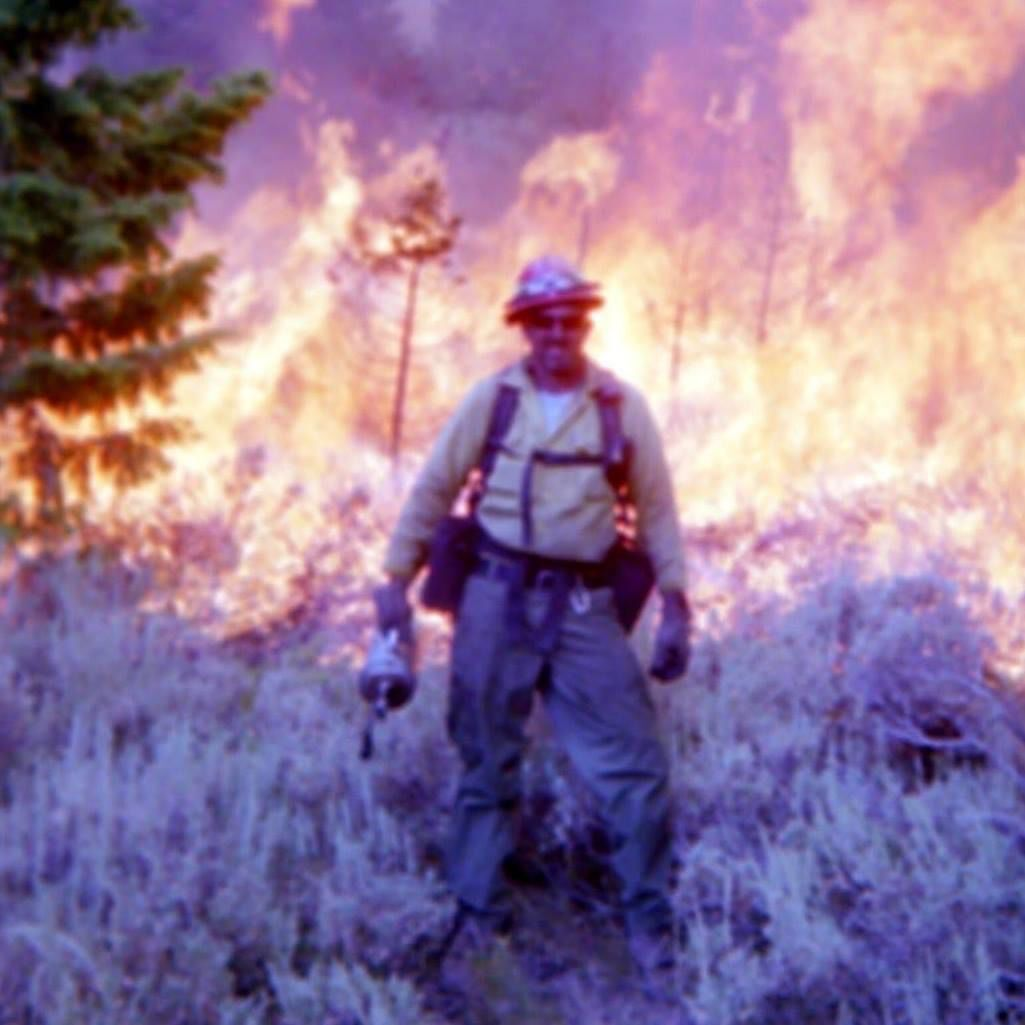 Yoder at forest fire