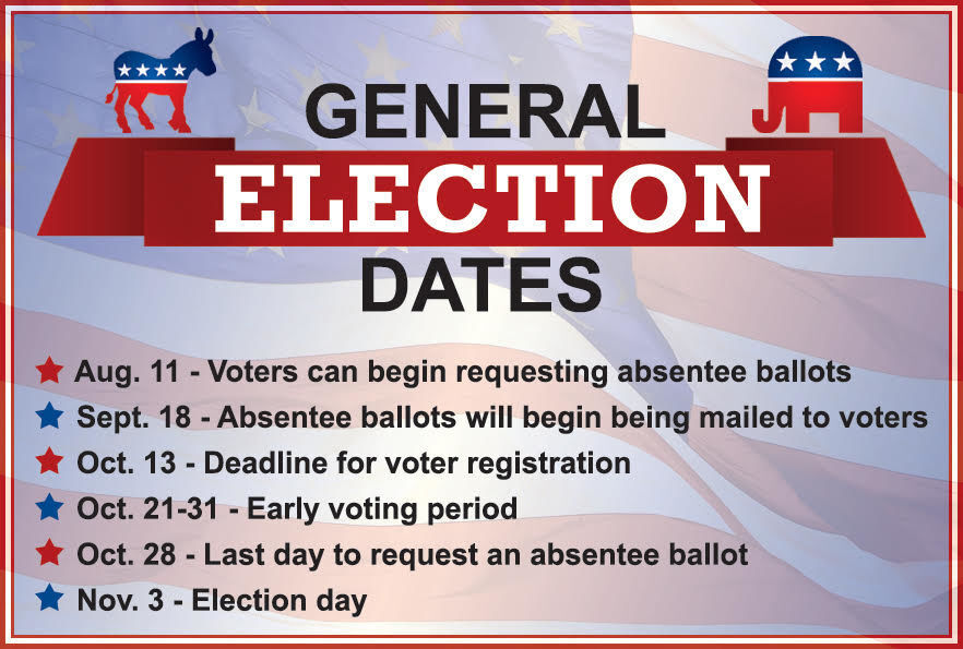 General Election Dates graphic