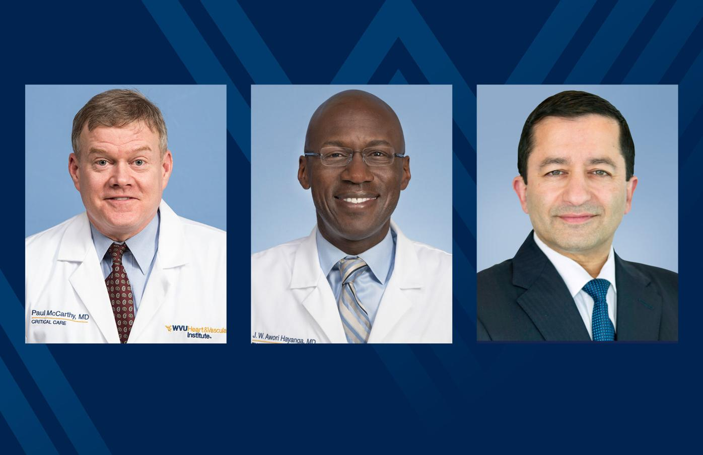 Drs. McCarthy, Hayanga, and Badwhar