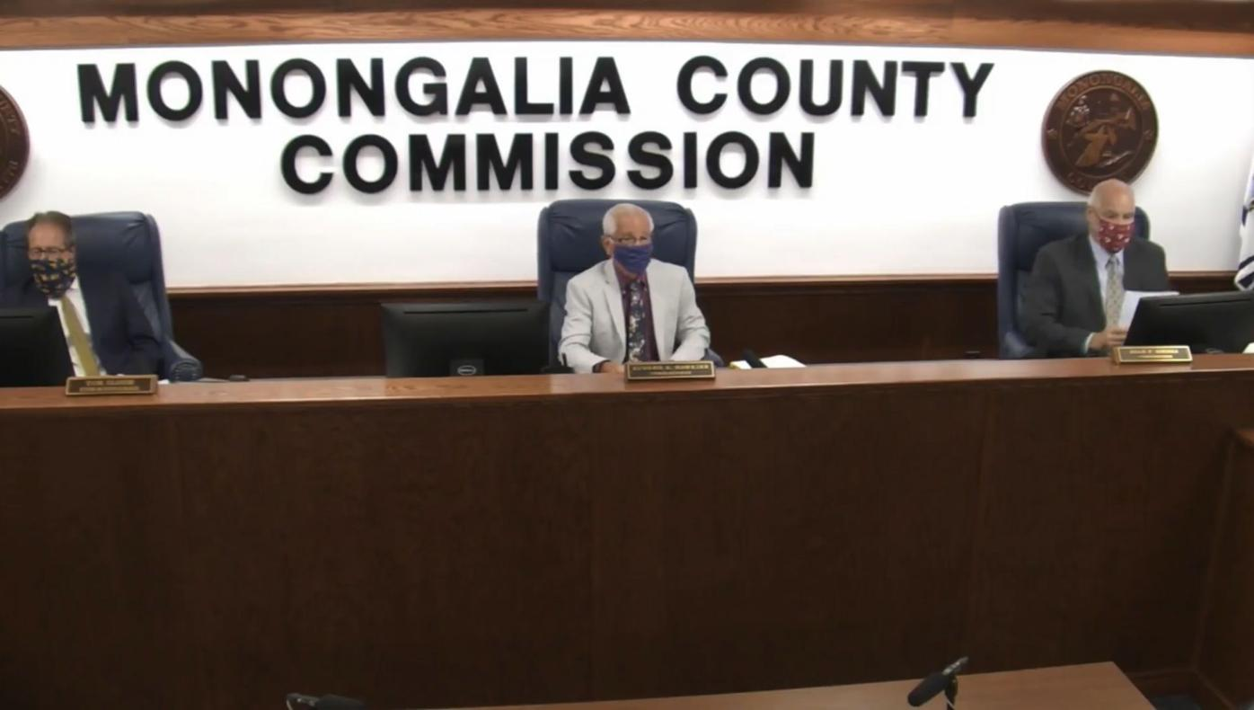 Monongalia County Commission members