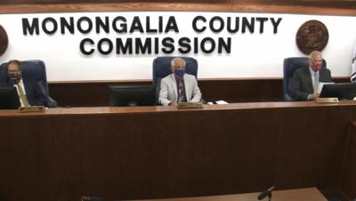 Monongalia County Commission members