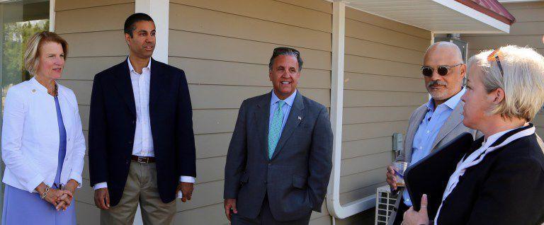 Senator Capito, FCC Commision Chairman Pai Visit