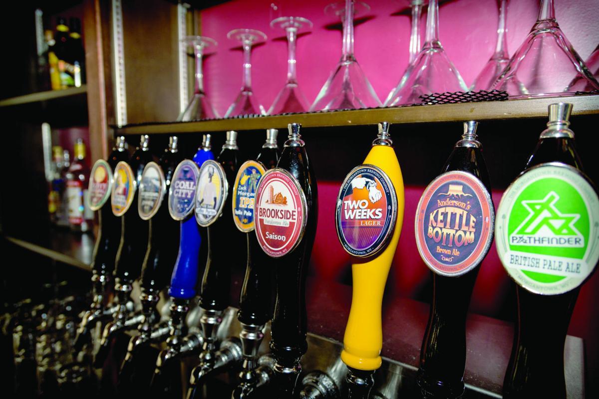 Morgantown Brewing Co. spigots