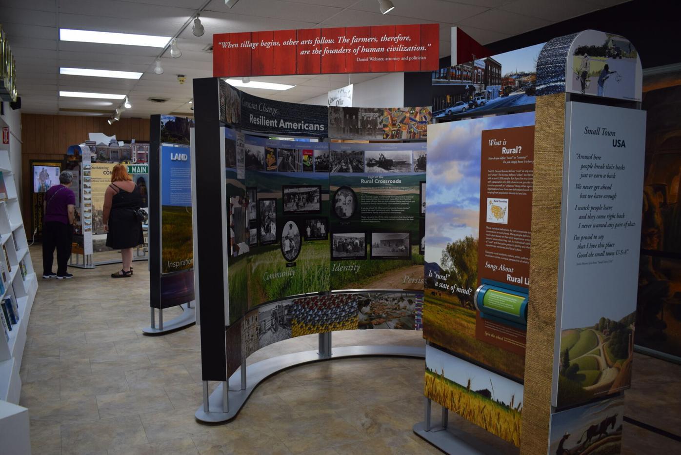 Smithsonian Crossroads exhibit open in Weston