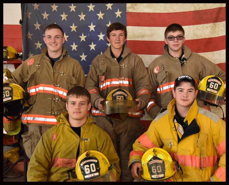 Junior fire crew