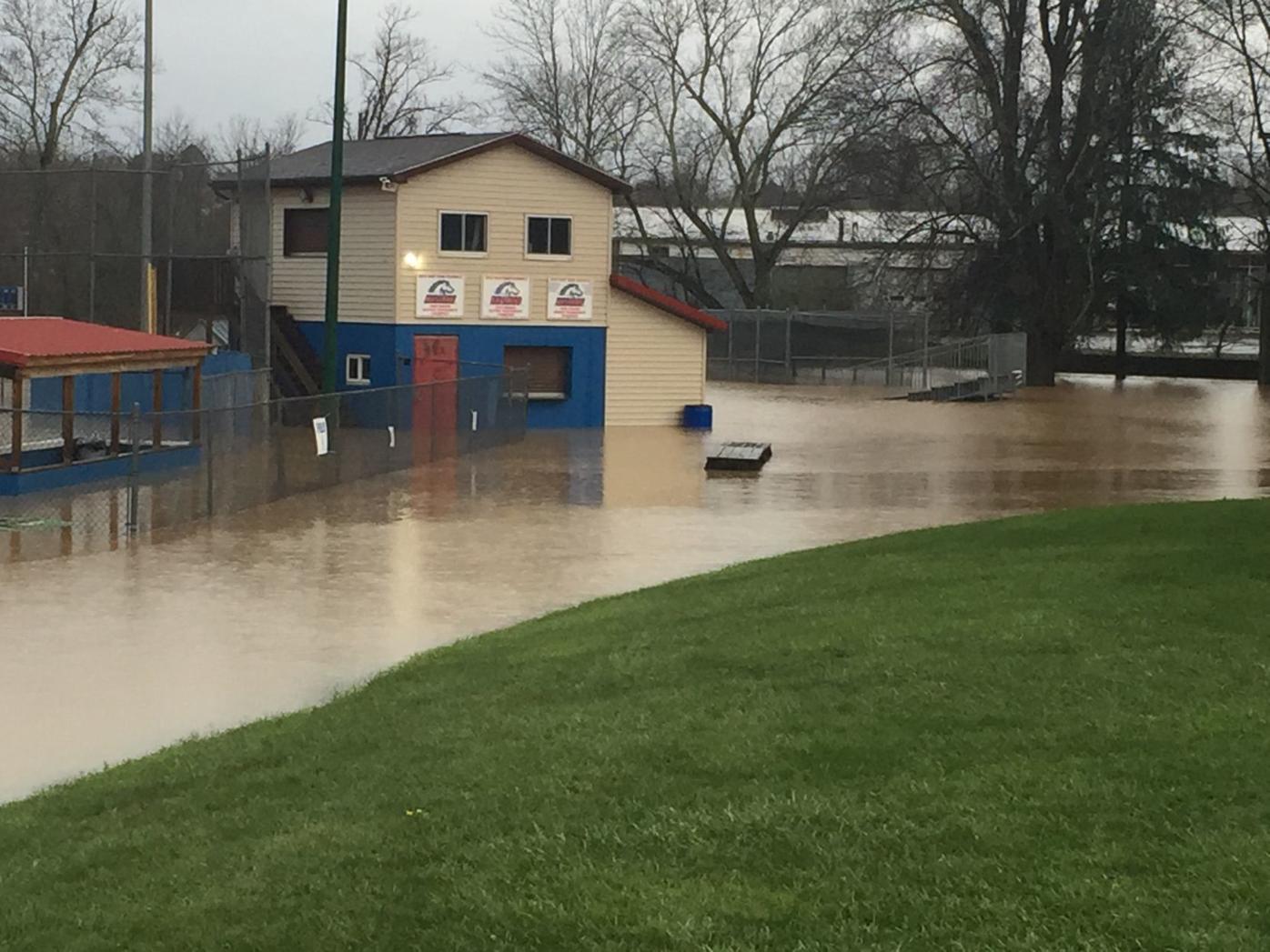 Pony field floods