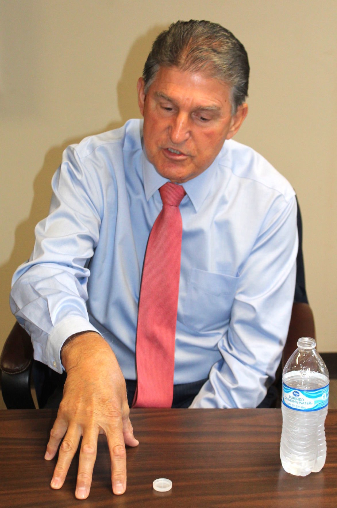 Manchin remains undecided