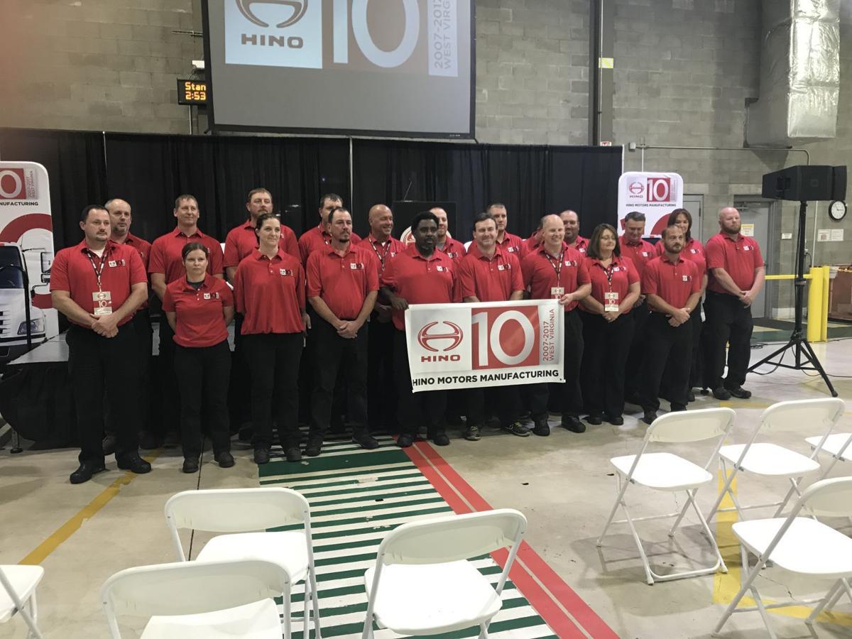 Hino - 10-year employees