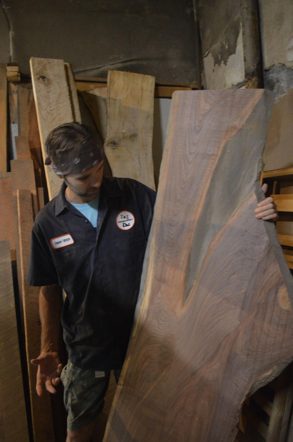 Unique shape of wood