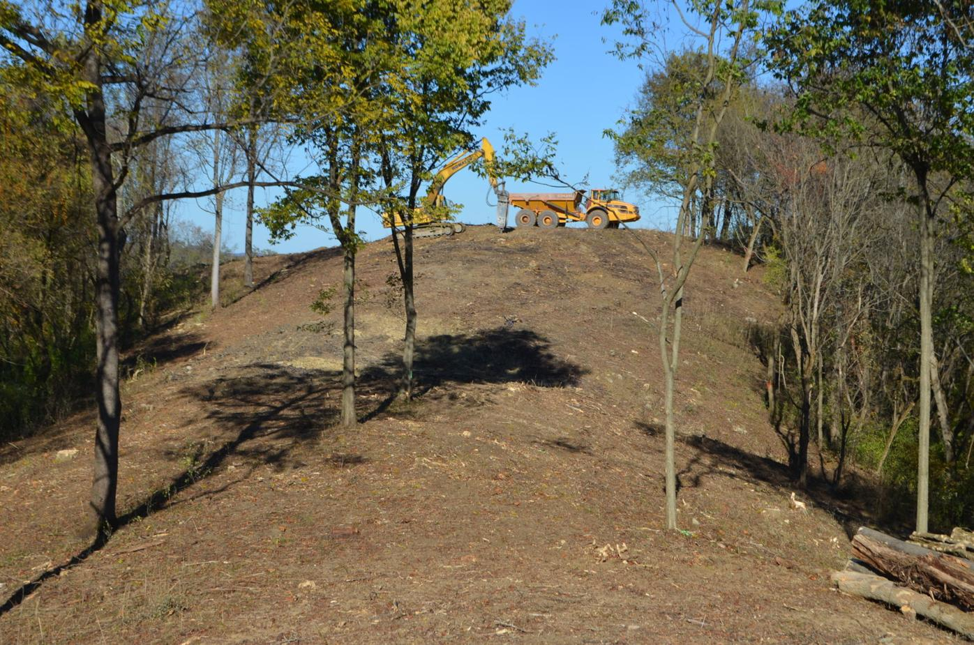 Phase 3 work at I-79 park