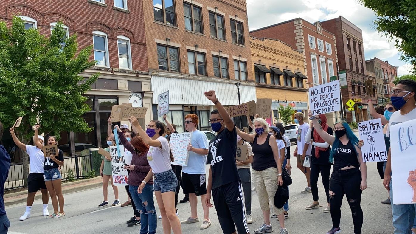 Protest at WalnutSt