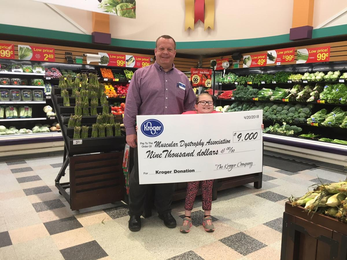 Kroger Marietta Ohio >> Kroger Raised 9 000 To Support Mda Shamrocks Program In