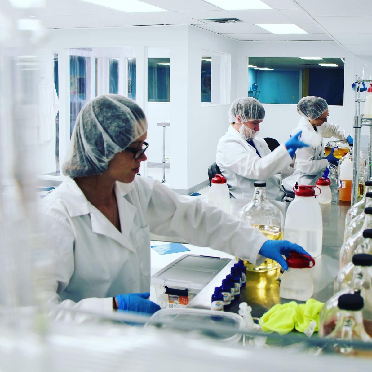 Vandalia Mist lab