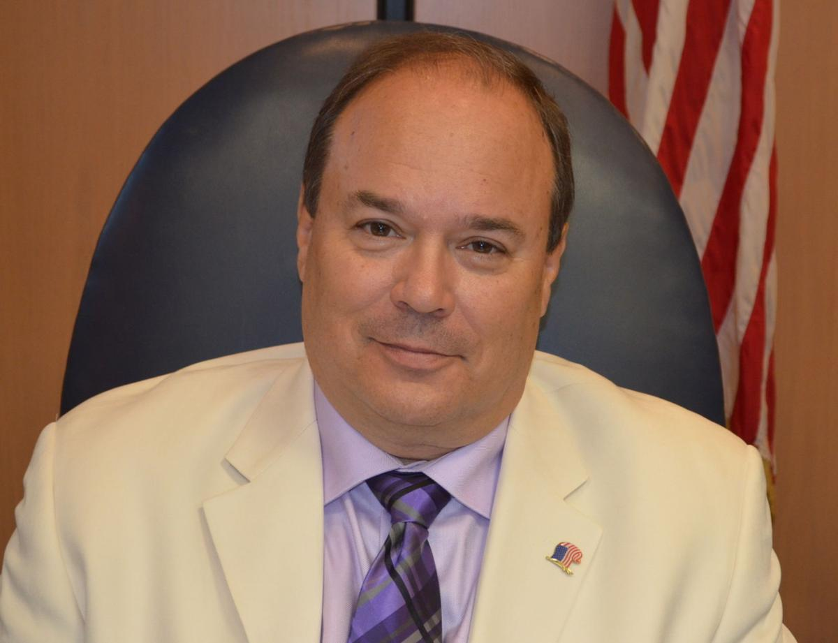 Harrison County Commissioner David Hinkle
