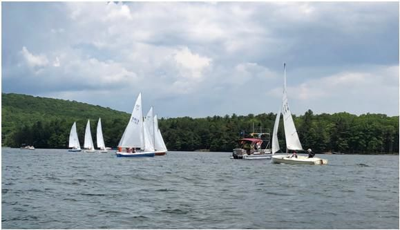 Sailing Before the Start