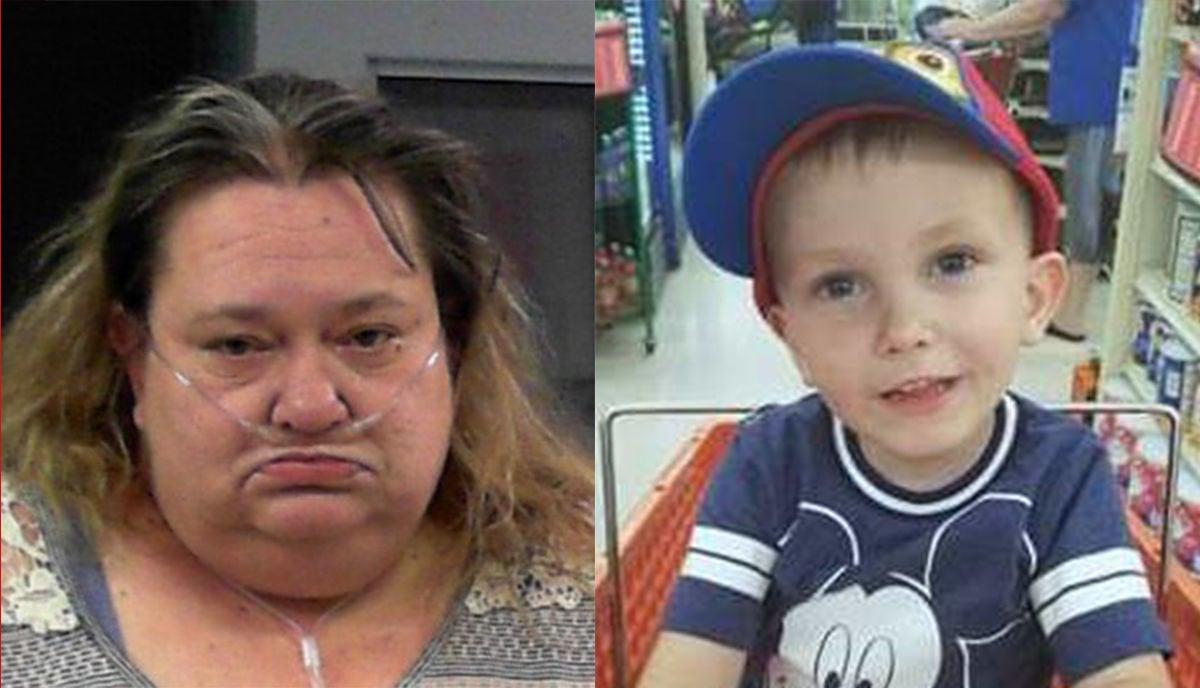 Michelle Boggs and grandson Keaton Boggs