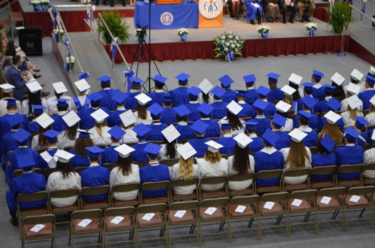 2019 FSHS graduation - caps