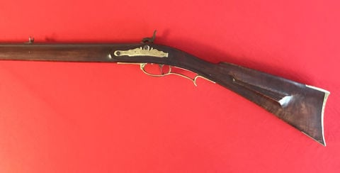 First Marvin Wotring WVU Mountaineer mascot rifle to be