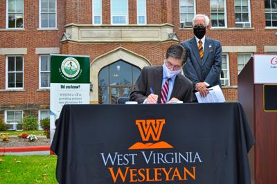 WVWC and WVSOM Signing