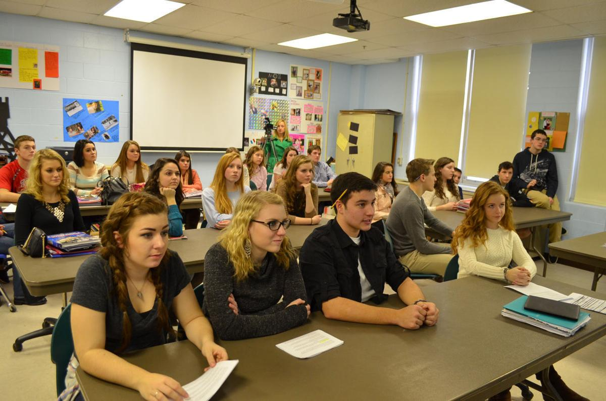 Bridgeport High students participate in Skype session with