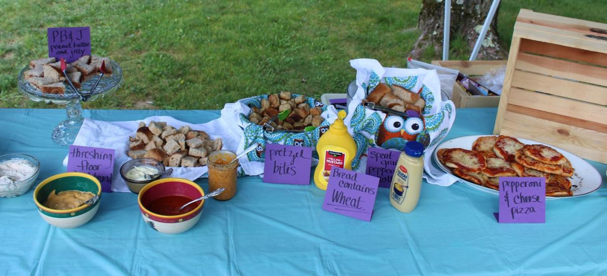 Screech Owl - Spent Grain Cafe food